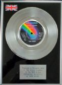 "Gary Moore - 7"" Platinum Disc - Parisienne Walkways"
